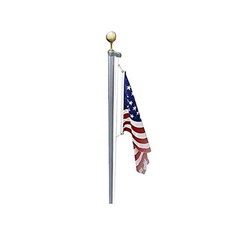 Made in USA Sektionaltor Fahnenstange Kit mit Seil (Flag Usa Kit)