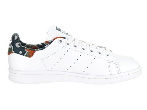 Adidas Stan Smith W Damen Leder Turnschuhe White/White/Utigrn