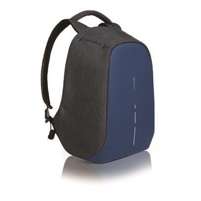 XDDesign Bobby Compact Anti-Diebstahl Laptop Rucksack Navy Blau mit USB (Unisex)