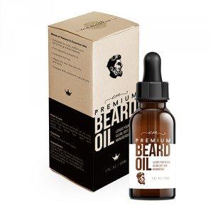Eco Masters Bartöl zur Bartpflege - angenehmer Geruch - 30 ML Bartpflege Öl von höchster Qualität - Zum Bart weich machen und Bart pflegen - Ideal zur Vollbart-Pflege
