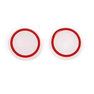 Generic 1 Paar Joystick Thumbstick Kappen Für Sony PS4-Steuerung Leuchtend Rot
