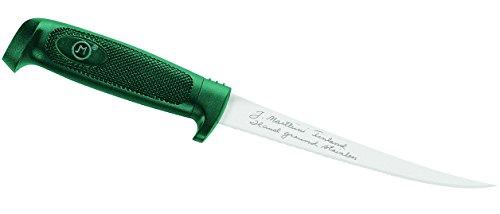 Marttiini Messer Finnisches Filiermesser, preiswert, Klinge 19 cm, rostfrei, Kunststoff-Scheide 904619