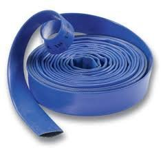 "Good Quality Lay Flat Hose for Water Pumps, 1 1/4""/32mm, Per 5 metre Length"