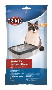 Best Buy Trixie Cat Litter Tray Bags 46 59 cm