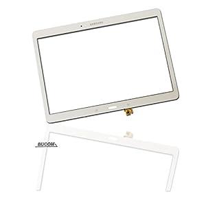 """Für Samsung Galaxy Tab S 10.5"""" SM-T800 T802 T805 mit Sensor Kabel Display Glas Touchscreen Glass Scheibe Digitizer Weiß"""