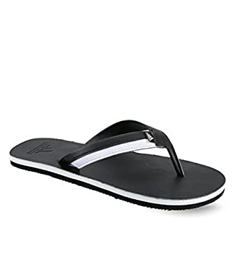b1c2cbf24 ADIDAS Men s Brizo 3.0 Black and White Flip-Flops and House Slippers  (ADIS50387)