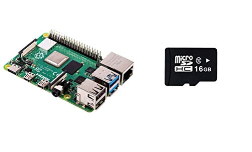 RASPBERRY PI 4 Model B 2 GB RAM Versione con 16 GB Micro SD precaricato con Noobs
