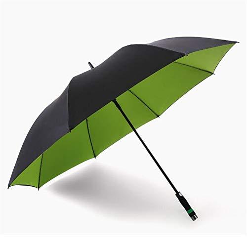 150 cm Golfschirm Männer Starke Winddicht Halbautomatische Langen Regenschirm Große Mann und Frauen Geschäfts Regenschirme Mens,Green