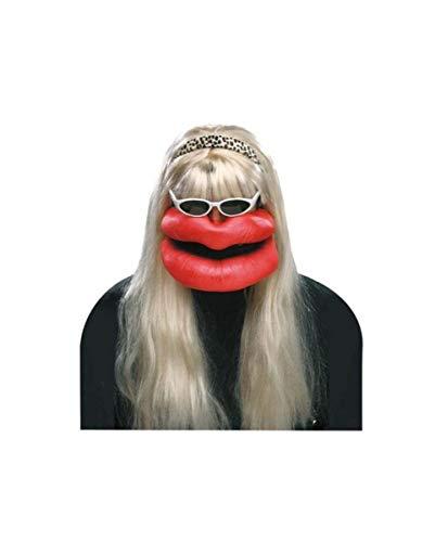 Horror-Shop Küssende Crazy Krissy Verkleidungs-Set 4-TLG. für Fasching