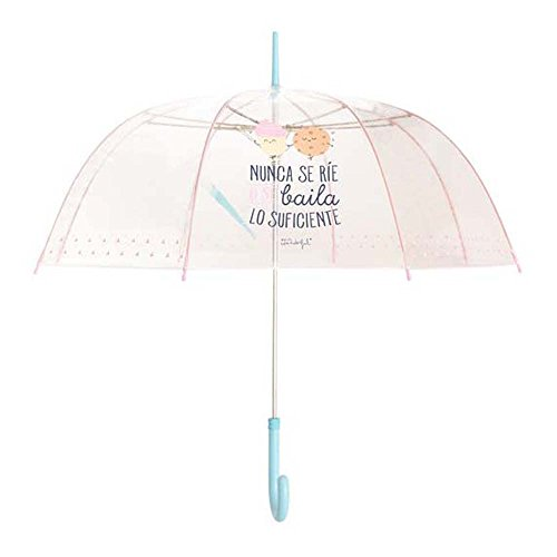 Paraguas largo mujer Mr.Wonderful Baila Celeste