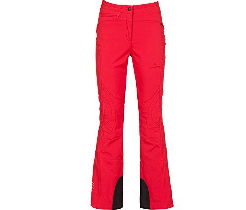 Bergson Damen Softshell Skihose Switch, Chinese red [104], 38 - Damen