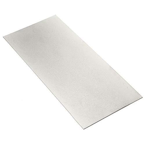 Moonvvin 170x75mm 600 Grit Diamond Sharpening Stone Grinding Sharpener (Diamond-grit)