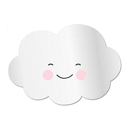 Decoloopio-Espejo-para-habitacin-de-nios-diseo-de-nube