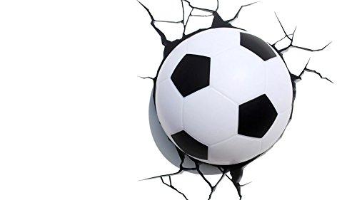 Lámpara decorativa con forma de balón de fútbol