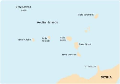 Imray Chart M47: Aeolian Islands