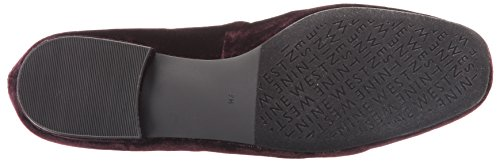 Nine West Xalan Toile Mocassin Wine