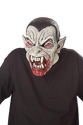 Vampire Blood Fiend Ani-Maschera di Halloween per adulti, colore: grigio