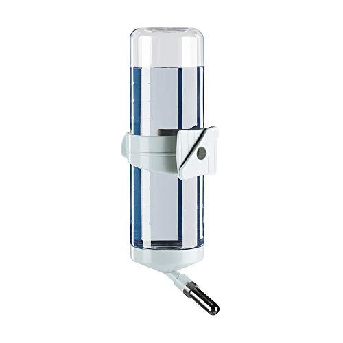 Ferplast 84663799 Nager-Trinkflasche Drinky FPI 4663, Befestigung am Gitter, Inhalt: 600 ml, farblich sortiert