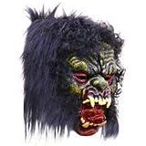 Brown Leaf ® Fancy face mask Holi Halloween Festival Costume Horror Scary Colour Prank Fun Veil naqaab Funny Colourful (Design 11)