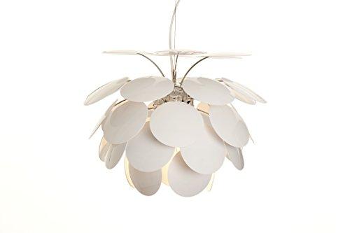 Marset 53 Discoco Lamp, ABS/Aluminio, Blanco