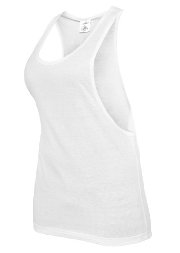 Urban Classics Ladies Loose Tank Top, white, Größe L