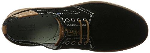 Bugatti 331150041400, Derby Homme Noir (Schwarz 1000)