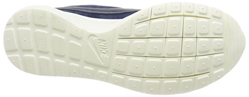 Nike W Roshe Cortez NM Prm Suede, Chaussures de Sport Femme Bleu - Azul Marino (Mid Navy / Mtlc Bl Dsk-Crt Bl-Sl)