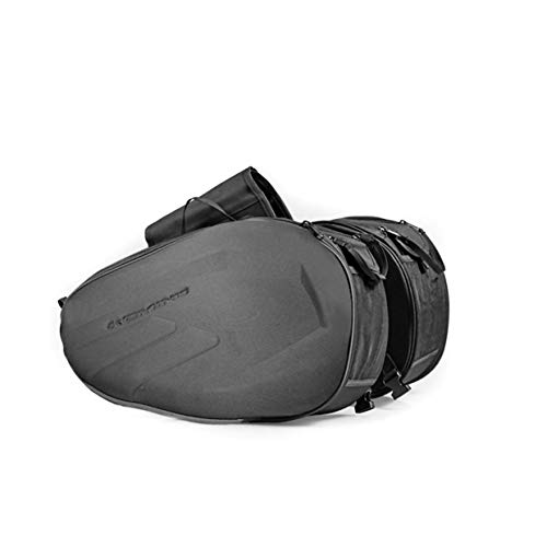 Homyl PU Leather Black Motorcycle Tool Bag Saddlebag For Harley Universal