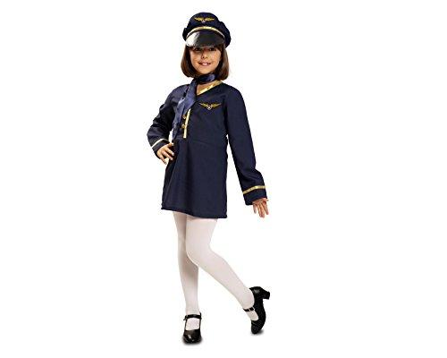 Kostüm Stewardess für Mädchen mehrere (Kostüm Stewardess Kind)