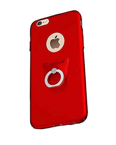LaoZan iPhone Housse De Protection Étui Coque, Ultra Mince Dur PC Case Protecteur Bumper Cover avec Ring Stand