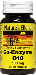 Nature's Blend Coenzyme Q10 100 mg 30 Capsules from Nature's Blend
