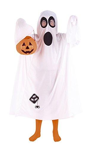 Rubie's S8285 - Costume per travestimento da fantasma del castello, taglia standard (5 + anni)