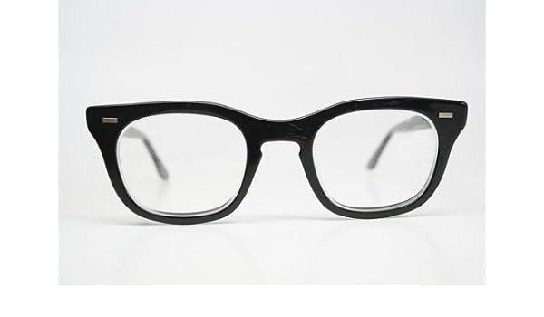 b4e8f6d89e2 Retro Glasses Vintage Eyeglass Frames BCG Glasses USS 1960 s Johnny Depp  James Dean vintage eyewear Vintage Eyeglasses  Amazon.co.uk  Kitchen   Home