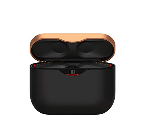Sony WF-1000XM3 True Wireless Noise Cancelling Kopfhörer (bis zu 32h Akkulaufzeit, stabile Bluetooth Verbindung, Amazon Alexa, komplett kabellose Earbuds incl. Ladecase) schwarz - 6