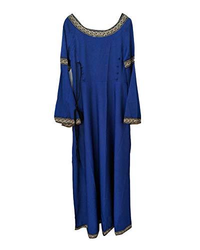 Bettler Kostüm Mittelalter - Damen Mittelalterkleid Kleid Kostüm Lang Cosplay