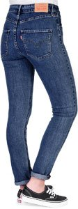 Levi's ® 721 High Rise Skinny W Jeans ciff hanger