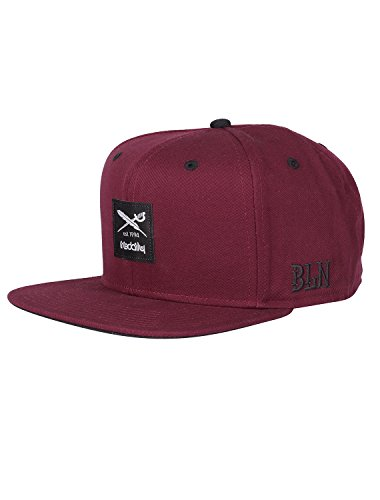IRIEDAILY Daily Flag 2 Snapback [red wine]