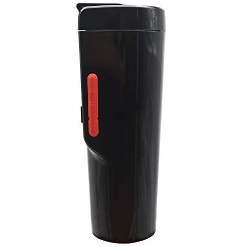 Puncia 12V Wasserkocher Auto Edelstahl Elektrische Smart Kaffeetasse für Auto mit Temp Steuerung...