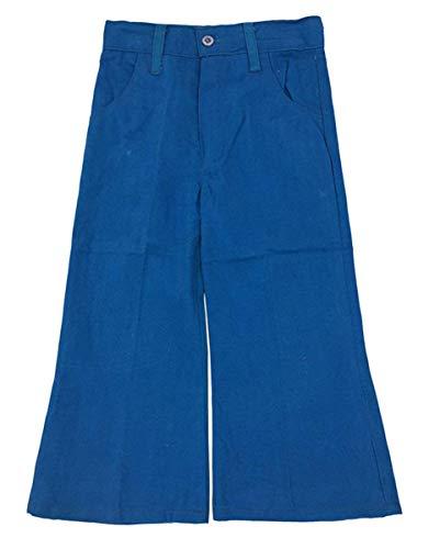 Groovy Cord (Cuckoo Jungen Vintage Pinsel Baumwolle Western Stil Ausgestellt Kordhose Größen von 2 bis 6 Jahre - Blau, 22 (2-3 Years))