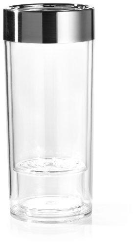 Prodyne wi-9wine-on-ice Acryl Weinkühler mit gebürstetem Chrom-Rand (Wi Kühler E)