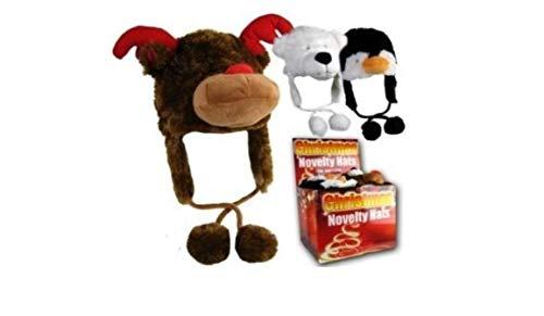 Reindeer Rudolph Girls/Boys Christmas Novelty Fur Animal One -