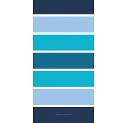 Jean Louis Scherrer Maxi Strandtuch 90x 180cm gestreift blau