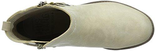 Mustang 1157-518-243, Bottes femme Blanc Cassé (243 ivory)