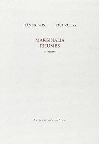 Marginalia Rhumbs : Et autres