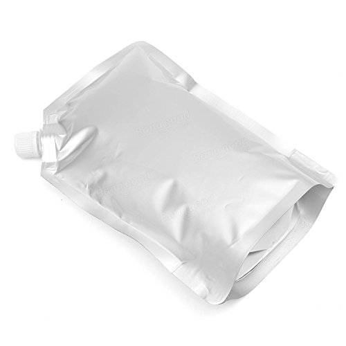 Auslauf Tasche flach Stand Up Liquid Tasche für Wein Saft Wasser 1000 ml 10 Stk. (Saft-auslauf)
