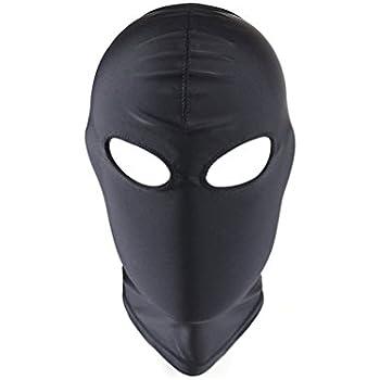 Cappuccio Nero Accessorio per Halloween Fancy Dress-Maschera Ladro rapinatore Balaclava