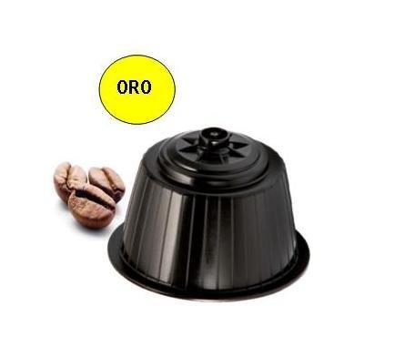 Nerone Caffè capsule Nescafè Dolce Gusto ® compatibili Oro di Napoli - confezione 160 pz