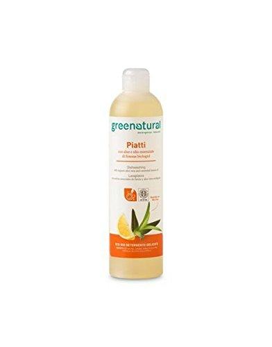 Greenatural - Lavavajillas manual aloe - 5208-500ml-Greenatural