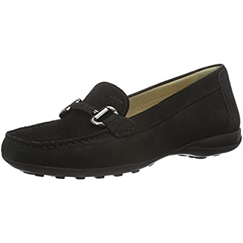 Geox Donna Euro D, Mocasines para Mujer