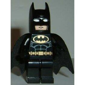 LEGO Batman: Minifigur Batman mit schwarzem Anzug (Lego Batman-anzüge Minifiguren)